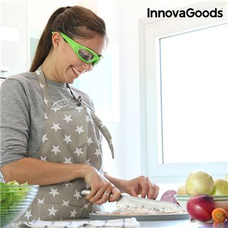 Lunettes protectrices pour Couper les Oignons InnovaGoods