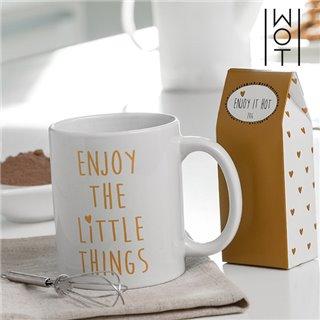 Tasse avec Message et Accessoires Wagon Trend-Design-It's a Good Day