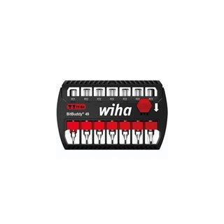 "Wiha Jeu D'Embouts Bitbuddy® Embout Ty De 49 Mm Pozidriv 7 Pcs 1/4"" (42099)"