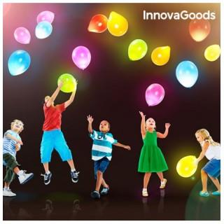 Ballons avec LED InnovaGoods (paquet de 10)