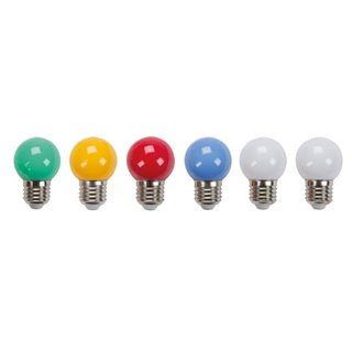 Ampoules Led Multicolores - 10 Pcs