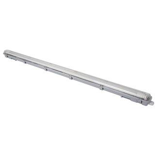 Plafonnier Avec Tube Led T8 - Étanche - 126.5 Cm - Blanc Neutre