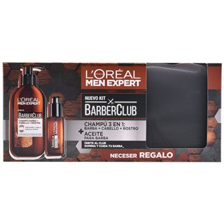 Set de rasage Men Expert Barber Club L'Oreal Make Up (3 pcs)