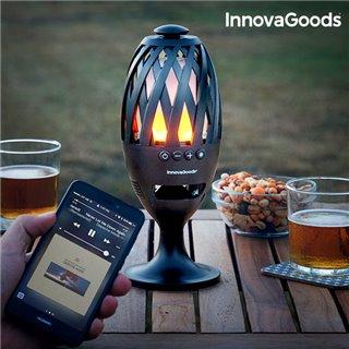 Torche LED avec Haut-Parleur Bluetooth InnovaGoods