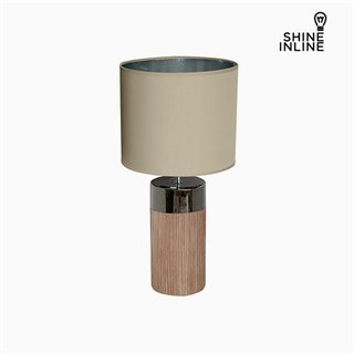 Lampe de bureau Marron (30 x 30 x 62 cm) by Shine Inline