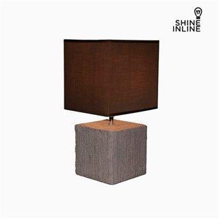 Lampe de bureau Marron (22 x 22 x 48 cm) by Shine Inline