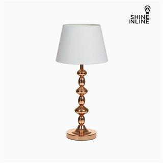 Lampe de bureau Cuivre Aluminium (25 x 25 x 54 cm) by Shine Inline