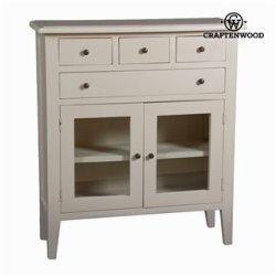 Console blanche crème coloniale - Collection Serious Line by Craftenwood