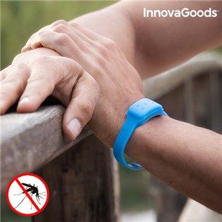 Bracelet Anti-Moustiques à la Citronnelle InnovaGoods-Couleur-Bleu