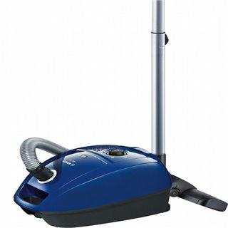Aspirateur à sacs BOSCH 222457 600W DualFiltration Bleu