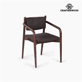 Fauteuil Mdf Acacia (58 x 56 x 78 cm) by Craftenwood