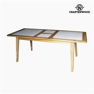 Table extensible Bois mindi (160 x 90 x 78 cm) by Craftenwood