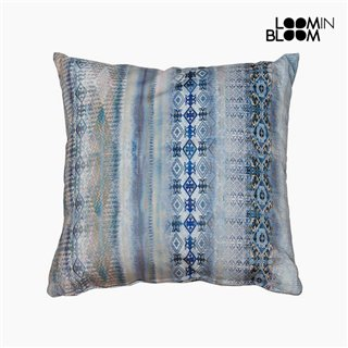 Coussin Bleu (60 x 60 cm) by Loom In Bloom