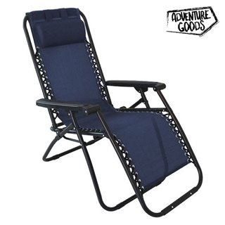 Chaise longue Adventure Goods 45838 (110 x 73 x 67 cm) Bleu