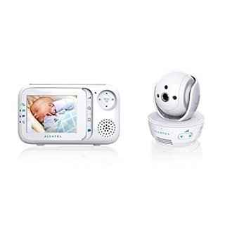 "Interphone bébé Alcatel Baby Link 710 2,8"" LCD PURESOUND Blanc"