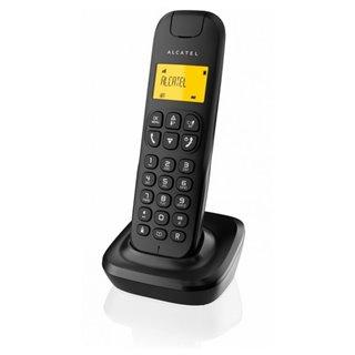 Téléphone Sans Fil Alcatel D-135 DECT Noir