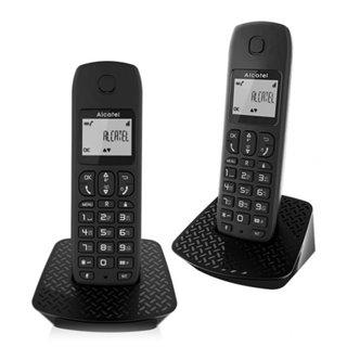 Téléphone Sans Fil Alcatel E132-DUO DECT Noir (2 pcs)