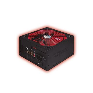 Source d'alimentation Gaming approx! APP800PSv2 14 cm APFC 800W Noir Rouge