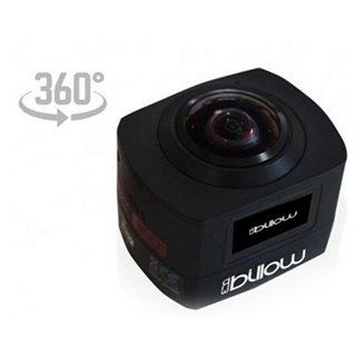 Caméra de sport Billow XS360PROB 16 Mpx HD 220º Noir