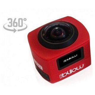 Caméra de sport Billow XS360PROR 16 Mpx HD 220º Rouge