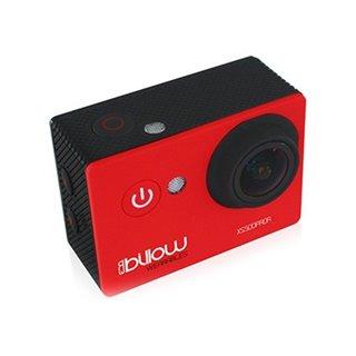 Caméra de sport Billow XS500PROR 12 Mpx 1080p 170º Rouge