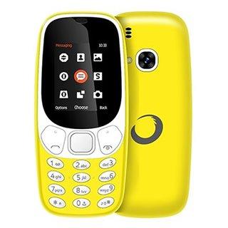"Téléphone Portable BRIGMTON NTETMO0861 BTM-4-Y Dual SIM Movil Senior 1,7"" Jaune"