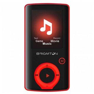 """Lecteur MP3 BRIGMTON BPA-81-R 1.8"""" 8 GB Rouge"""