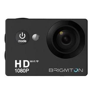 Caméra de sport BRIGMTON BSC-8HD HD 1080p 170º 30fps Noir