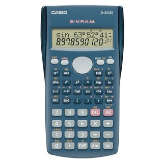 Calculatrice Casio FX-82MS Noir