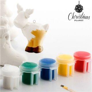 Figurines de Noël à Peindre (6 pièces)