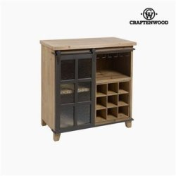 Range Bouteilles Sapin (82 x 80 x 44 cm) by Craftenwood