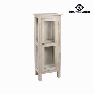 Vitrine avec Porte en Cristal Bois - Collection Autumn by Craftenwood