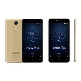 "Smartphone Cubot NOTE PLUS 5,2"" Full HD Quad Core 1.5 GHz 32 GB 3 GB RAM 4G Or"