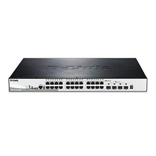 Commutateur Réseau Armoire D-Link NSWSAR0186 DGS-1510-28XMP 24xGB 4x10GB SFP+