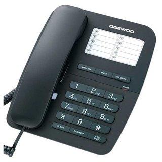 Téléphone Sans Fil Daewoo DTC-240 Noir
