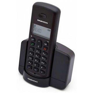 Téléphone Sans Fil Daewoo DTD-1350 DECT DUO Noir