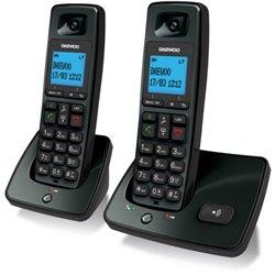 Téléphone Sans Fil Daewoo DTD4100 DECT LCD LED DUO DUO