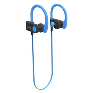 Casques Bluetooth de Sport Denver Electronics BTE-110 50 mAh-Couleur-Bleu