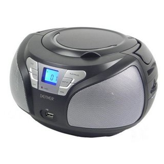 Radio CD Denver Electronics TCU-206BL Noir