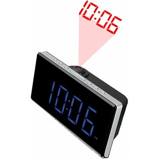 "Radio-réveil Denver Electronics CRP-515 1,8"" LED FM Noir"