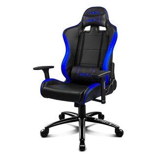 Chaise de jeu DRIFT DR200BL 90-160º Mousse PU Noir Bleu