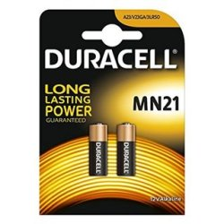 Piles Alcalines DURACELL Security DRB212 MN21 12V 1.5W (2 pcs)