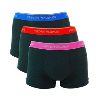 Boxer pour Homme  Emporio Armani 111357-7A717-21320 (Pack de 3)-Taille -S