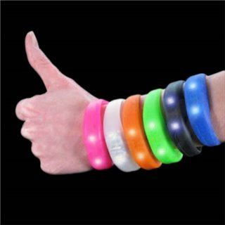 Bracelet Silicone Blink Bandz-Couleur-Transparent