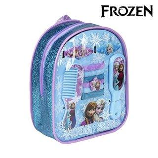 Sac à Dos pour Enfants avec Accessoires pour les Cheveux Frozen 94498