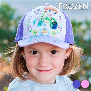 Casquette pour Enfant Frozen-Couleur-Rose