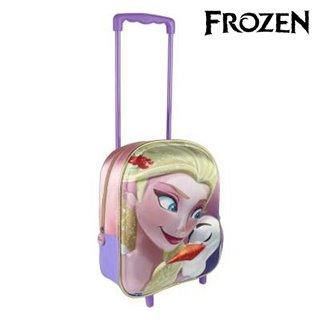 Cartable 3D avec roulettes Frozen 8065
