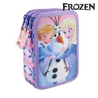 Pochette à crayons triple Frozen 8184