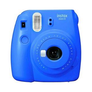 Appreil Photo Instantané Fujifilm Instax Mini 9 Bleu électrique