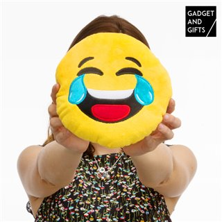 Peluche Smiley Pleure de Rire Gadget and Gifts